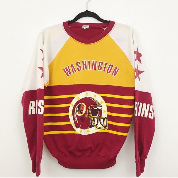 VINTAGE Washington Redskins pullover jacket. M 5a6e8f958af1c5af8021ca83 44f87b7c4